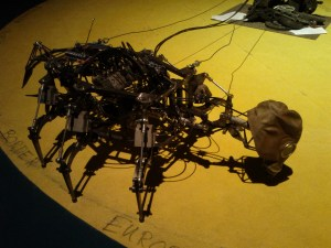 Upload your own firmware into post-apocalypitc pneumatic robot