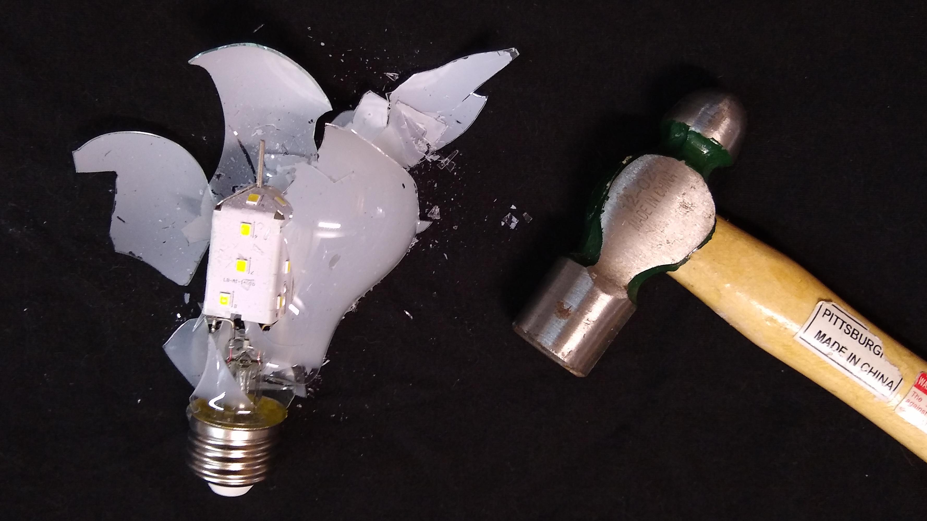 Testing Led Light Bulbs