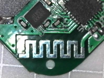 Antenna in itek tracker