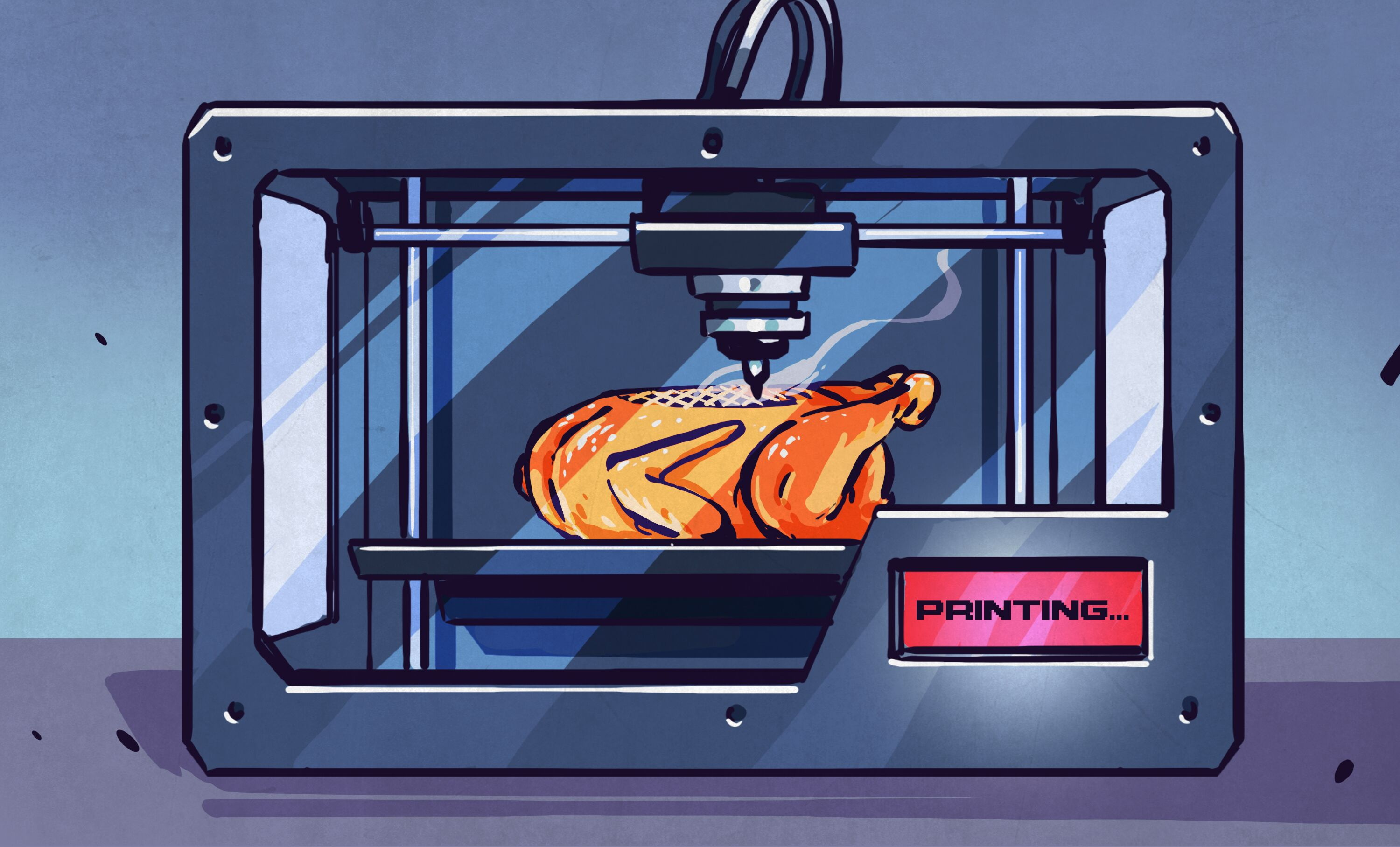3d Printering The Quest For Printable Food