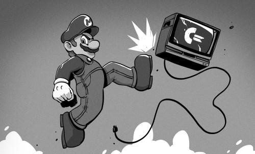 Mario hit C64