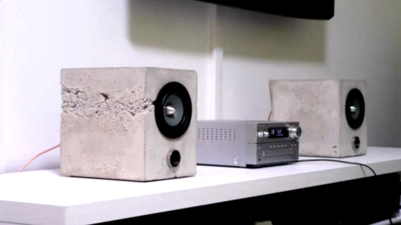 Yet Another Concrete Speaker Build