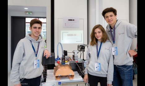 SierrOS team at the Olympics of Engineering in May