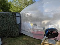 Inflatable house in a van?
