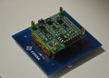 FossaSat-1 Chip