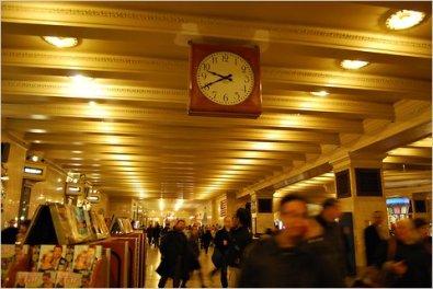self winding clock NYC 2