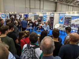 Big audience for Orbital Mechanics lecture