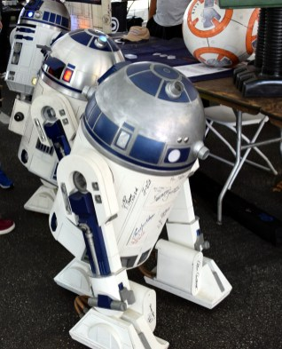 A flock of R2s