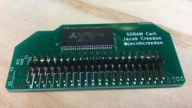 Badge hacking 2019 14 - SDRAM cart