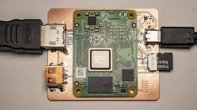 Timonsku's minimal CM4 carrier board
