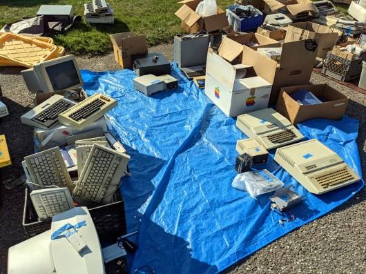 Surplus computers and hardware from VCF.
