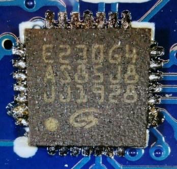 GigaDevices E230 ARM Microcontroller
