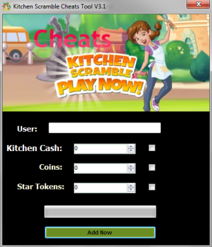 Kitchen Scramble Game Hack