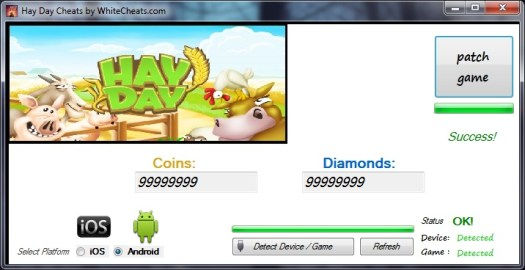 Hay Day Cheats for Android and iOS