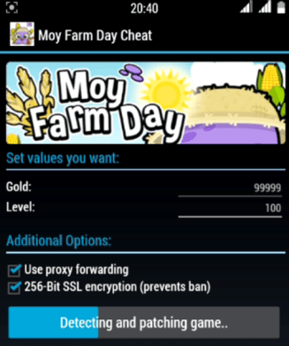 Moy Farm Day hack tool v1.1