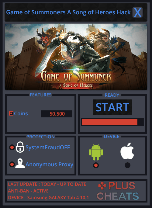 Game of Summoners A Song of Heroes hack
