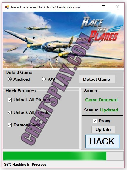 Race The Planes Hack Tool