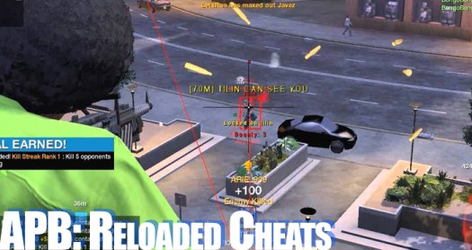 apb relaoded cheats