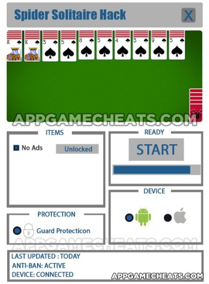 Spider Solitaire Hack for No Ads Unlock