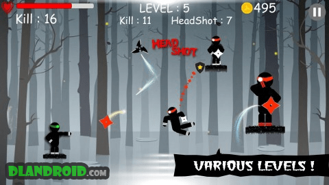 Ninja: Samurai Shadow Fight Apk Mod