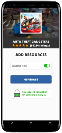 Auto Theft Gangsters MOD APK Unlimited Diamonds