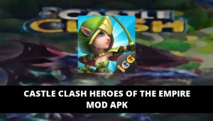 Castle Clash Heroes of the Empire Featured Cover