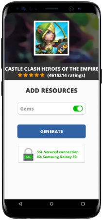 Castle Clash Heroes Of The Empire MOD APK Unlimited Gems