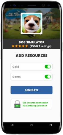 Dog Simulator MOD APK Unlimited Gold Gems