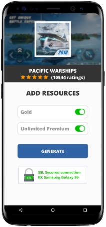 Pacific Warships MOD APK Unlimited Gold Premium