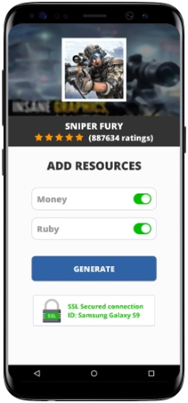 Sniper Fury MOD APK Unlimited Money Ruby