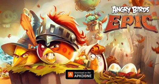 Angry Birds Epic RPG MOD Unlimited Money