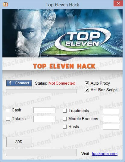 Top Eleven Hack cheat free download