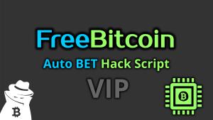 Freebitco.in Auto BET Hack Script VIP 2020