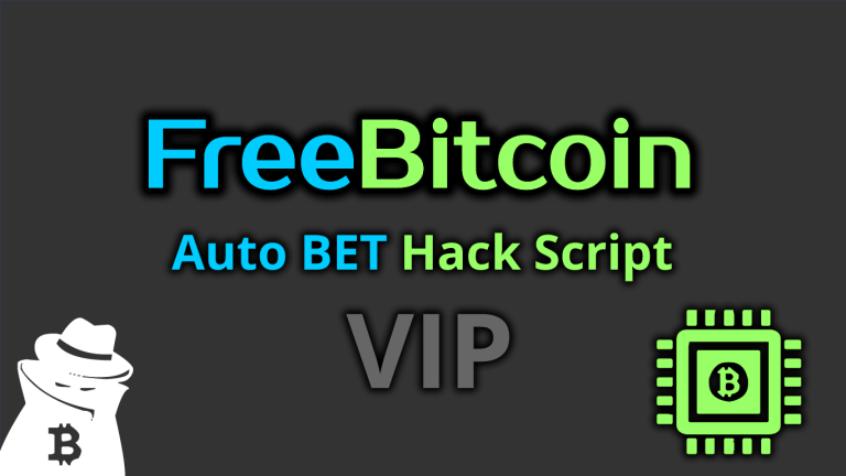 Freebitco.in Auto BET Hack Script VIP 2020
