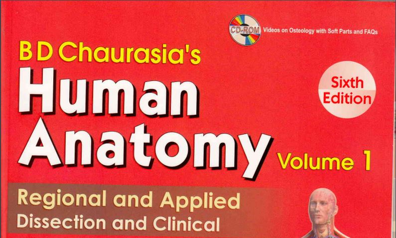 Bd Chaurasia Anatomy Book Volume 1