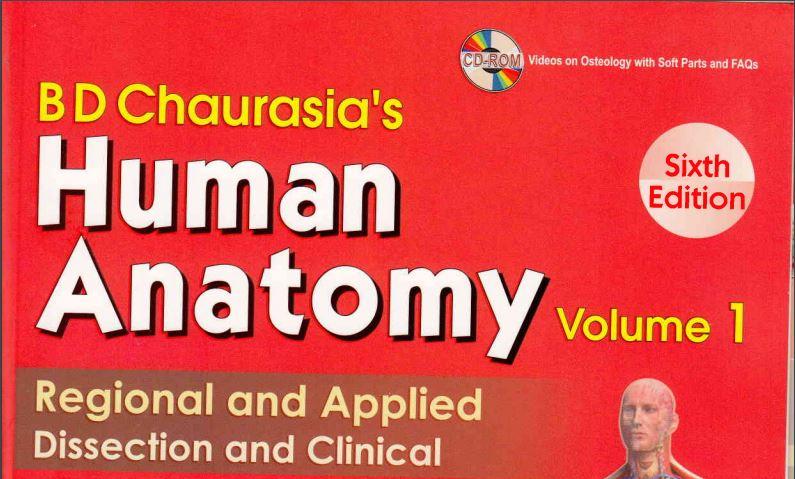 Bd Chaurasia Anatomy Book Volume 1