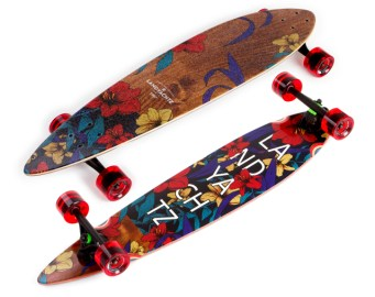 Landyachtz Maple Chief Floral 2016 Komplettbrett