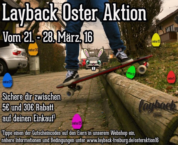 Layback Oster Aktion