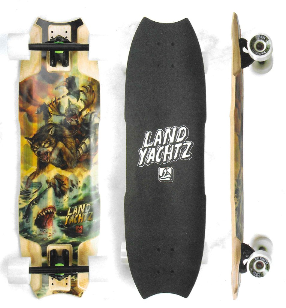 Landyachtz Wolf Shark Mini