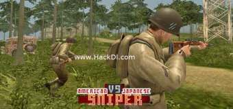 American vs Japanese Sniper Hack 1.1.4 (MOD,Unlimited Money) Apk