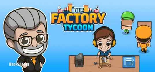 Idle Factory Tycoon MOD Unlimited Money apk