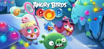 Angry Birds POP Bubble Shooter Mod Apk 3.95.0 (Hack Unlimited Gold/Life)
