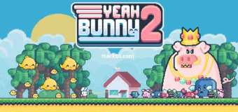 Yeah Bunny 2 Hack Apk 1.2.8 (Mod,Unlimited Gold/Carrot/Stars)