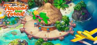 Tropical Forest: Match 3 Story Mod Apk 2.14 (Hack Unlimited Star)