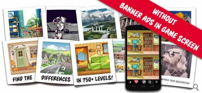 Find the differences 750 + levels mod apk latest version