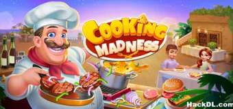 Cooking Madness Mod Apk 2.0.2 (Hack,Unlimited Coin )