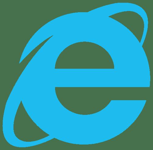 InternetExplorerロゴ