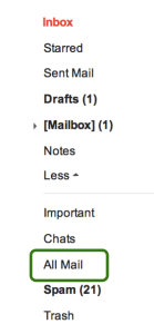 inbox cleanup
