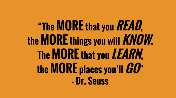 The more you read quote