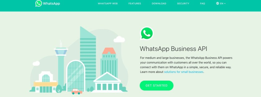 Image result for whatsapp business api
